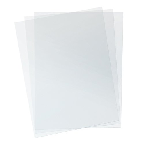 TruBind - PVC Clear Binding Covers PVC Binding Covers - Variety of Sizes and Thickness - Binding Covers for Business Reports and Proposals - 100 Individual Sheets - 3.5 Pounds (Covers Binding 11x14)