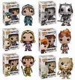 Funko Pop -- Magic: The Gathering MTG Set of Six: Chandra, Jace, Ajani, Liliana, Garruk and Nissa
