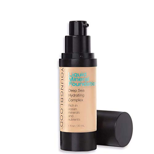 Youngblood Mineral Cosmetics Natural Liquid Mineral Foundation - 30 ml / 1 fl. oz. (Ivory)