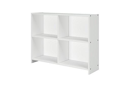 DONCO KIDS 780DW Circles Bookcase, White