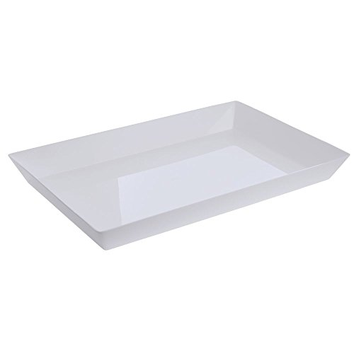 Delfin White Acrylic Basket Liner - 18