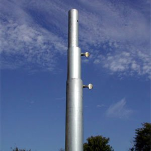 Birds Choice 12' Heavy Duty Telescoping Purple Martin Pole 12' Slide Top Feeder