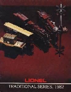 1982 Lionel Trains Traditional Catalog
