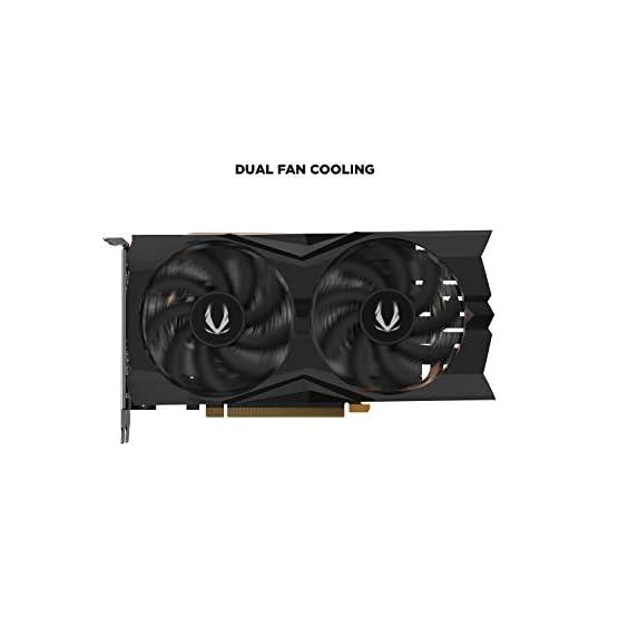 ZOTAC Gaming GeForce GTX 1660 6GB GDDR5 192-bit Gaming Graphics Card, Super Compact, ZT-T16600K-10M 31geSTT7IlL. SS555