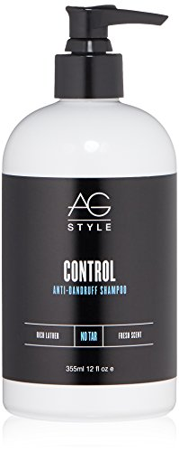 Control Shampoo (AG Hair Control Anti-dandruff Shampoo, French Vanilla Creme Lime Leaf & Jasmine Menthol, 12 fl. oz..)