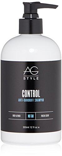 AG Hair Style Control Anti-Dandruff Shampoo 12 Fl Oz (Best Drugstore Hair Shampoo)