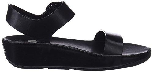 Mujer Sandalias Plataforma Sandal Con black Fitflop Negro Para Bon qzYgxT