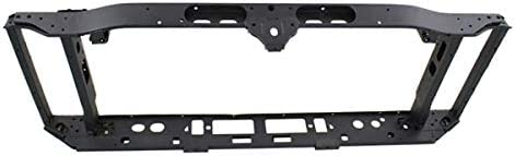 Radiator Support Assembly Compatible with 1999-2002 Chevrolet Silverado 1500 Black Aluminum