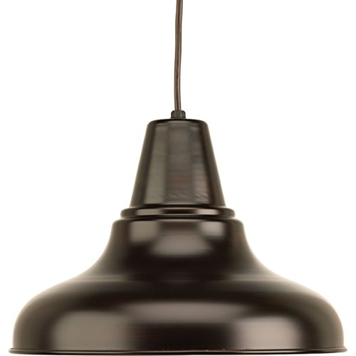 Bronze Antique Hanging (Progress Lighting P5551-20 Traditional/Classic 1-100W Med Hanging Lantern, Antique Bronze)