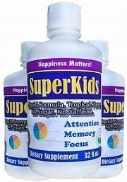 Amazon Com Brain Focus Memory Liquid Formula For Kids Teens Attention Focus Great Taste Sugar Free Caffeine Free Calming Supplement For Children Kids Attention And Focus Formula Natural Brain Vitamins