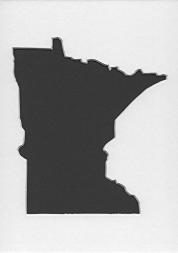 Pack of 3 Minnesota State Stencils Made from 4 Ply Mat Board 16x20, 11x14, 8x10