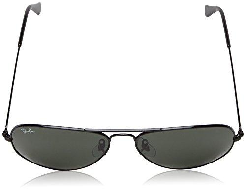 Aviator Green Unisex Metal xl Rb3025 Sunglasses ban Black Ray Large wHq18PEUOH