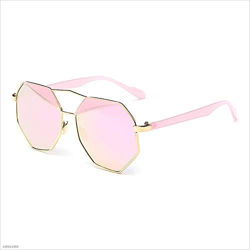 à Lunettes Soleil Lunettes Joo de Femme Pink UV Soleil polygonales Soleil Femmes Bordures Lunettes personnalité de Purple pour pour de Protection Couleur de pdOdq8xzn