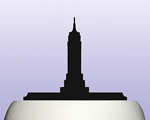 Acrylic Empire State Building Art Deco Skyscraper Cake Topper Decoration ()