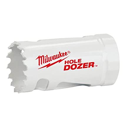Amazon Com Milwaukee  1 Inch Ice Hardened Hole Saw Milwaukee Electric Tools Home Improvement