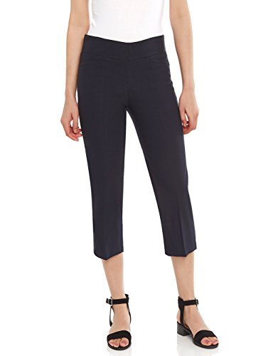 Navy Blue Capri Pants - 8