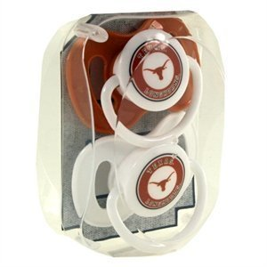 NCAA Texas Longhorns Infant Pacifier (Longhorns Baby Texas Gear)