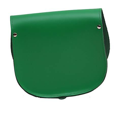 Hebilla Y Crossbody Cierre Real Del Con Disponible Ajustable Cuero Verde De Silla En Colores Bolso Varios Correa Montar Ywv8Wqz