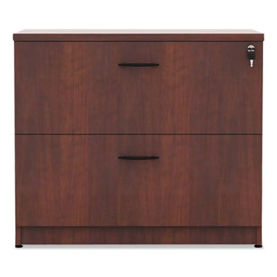 (Alera VA513622MC Valencia Series 35-Inch by 22 by 29-1/2-Inch 2-Drawer Lateral File, Medium Cherry)