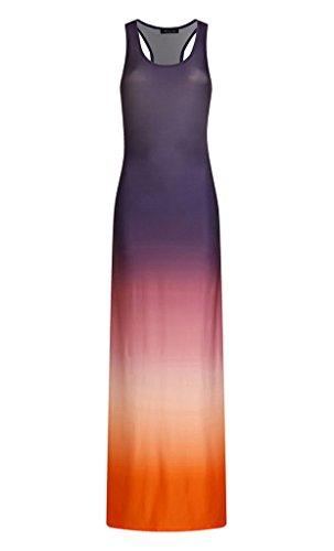 Robe Mode Rond YiyiLai Casual Manche Col Longue Noir Femme Voyage Plage Sans Imprim Et a55wHqxZ6