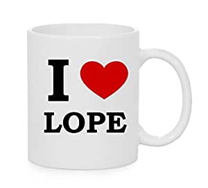 I Heart Lope (Love) Official Mug