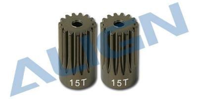 Align Pinion Gear - Align Motor Pinion Gear 15T H60174