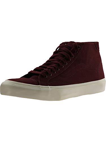 - Vans Court Mid Canvas Mid Tops Sneakers Unisex (edium / 7 D(M) US, Port Royale)