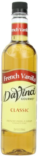 DaVinci Gourmet Classic Syrup, French Vanilla, 25.4 Ounce (Pack of 3)