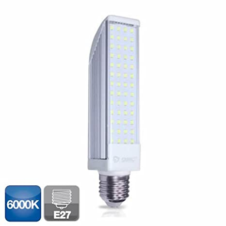 Bombilla de led PL 11W 6000K 1000lm G24 GSC 2001195: Amazon.es: Iluminación