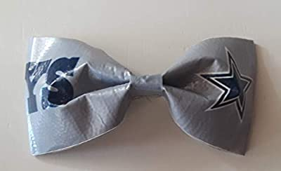 Dallas Cowboys NFL Duct Tape Hair Clip Bow