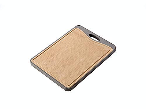 TUNEZ Double-Sided Cutting Board for Kitchen Best for Meat, Vegetables and Fruits Gifts for the Couple, Christmas presents, Gift for Mum, Housewarming Gift and - 15 inches x 11.05 inches x 0.8 inches