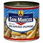 San Marcos Whole Jalapeno Tin (12x11Oz) by San ()