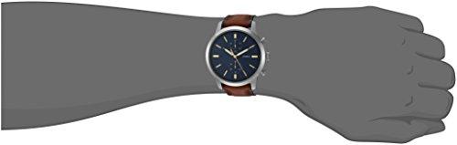 df2f65ff99c0b Fossil Men s FS5279 Townsman 44mm Chronograph Luggage Leather Watch ...