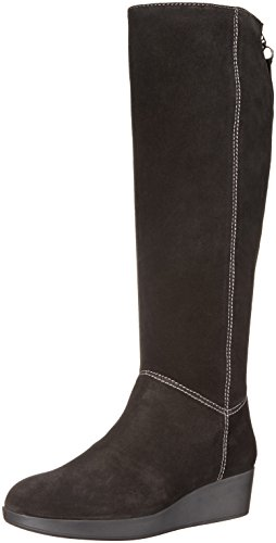 Johnston & Murphy Womens Darcy Rainboot Black