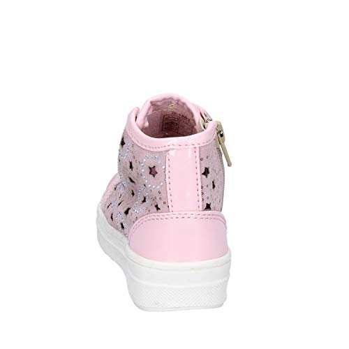DIDI BLU Fashion-Sneakers Baby-Girls Suede Pink 8 US