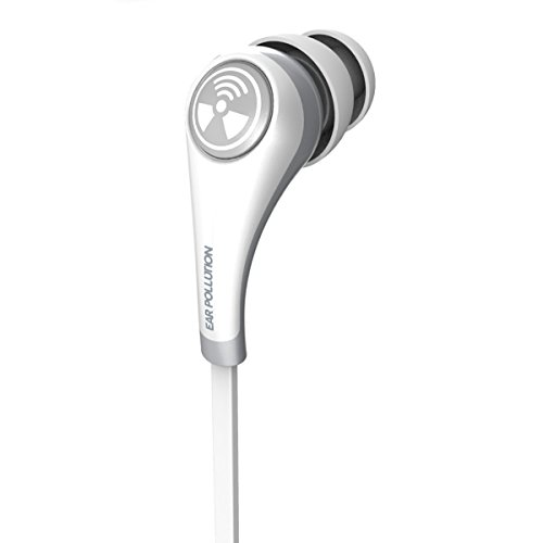 Earpollution Earbud Plugz Headphones (iFrogz IFPZMB-WH0 Ear Pollution Plugz, Earbuds for Mobile Devices, White)