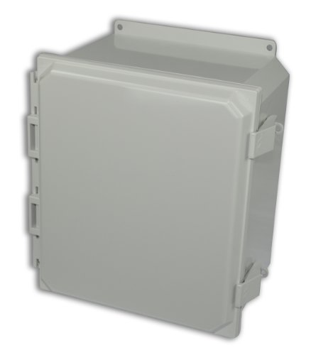 Allied Moulded AMP1206NLF Polyline Series Polycarbonate JIC Size Junction Box, Light - Jic Enclosure