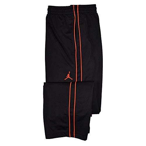 Nike Jordan Boys' (8-20) Jumpman Basketball Pants-Black/Lt Crimson-XL (Best Pants For Jordans)