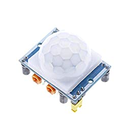 10PCS Blue Plate HC-SR501 HCSR501 SR501 Human Infrared Sensor Module Pyroelectric Infrared Sensor Imports Probe for arduino