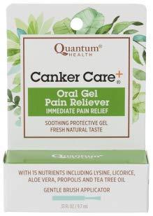 Quantum Health Canker Care Oral Gel Pain Reliever 0.33 fl ()