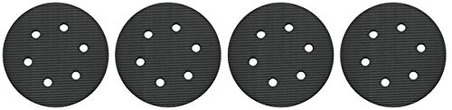 PORTER-CABLE 18001 6-Inch 6-Hole Hook and Loop Standard Pad for 7336 and 97366 Random Orbit Sander (4-(Pack))