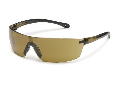 Gateway Safety 446M StarLite Squared Ultra-Light Safety Glasses, Mocha Mirror Lens, Mocha Temple (Pack of 10)