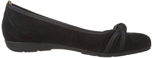 Gabor Shoes 4.162 Signore Chiuse Ballerine Nere (nero 17)