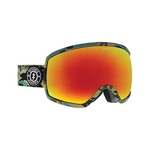 Snowboard Electric Goggles Eg2 (Electric Egg Ski Goggles, Camo/Brose/Red Chrome)