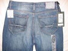 Southern Thread (Southern Thread Denim Jeans Mens Riordan Bootcut Med Wash (33S))