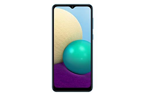 Samsung Galaxy A02 4G LTE Unlocked Global Volte (64GB, 3GB) 6.5″ Dual Camera Dual Sim (At&t Tmobile Metro Latin Europe) (No for Verizon Boost) International Model SM-A022M/DS (Blue)