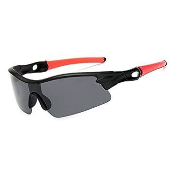 HSDDA Gafas de Sol Deportivas Gafas de Sol polarizadas Deportivas Polaroid Gafas de Sol de Noche