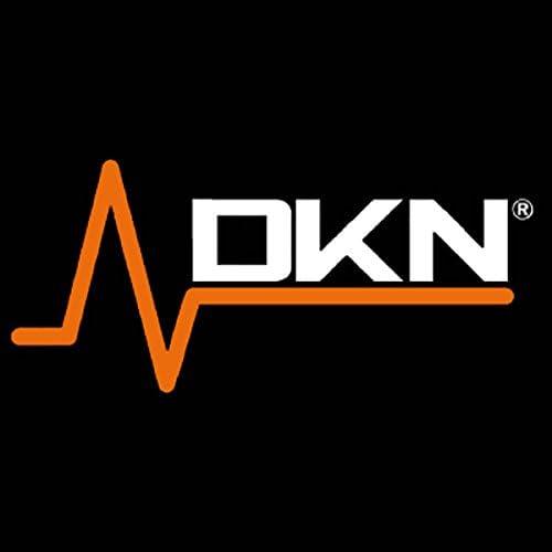 Gris//Orange DKN Unisexe Kettlebell en Vinyle 8/kg 8/kg