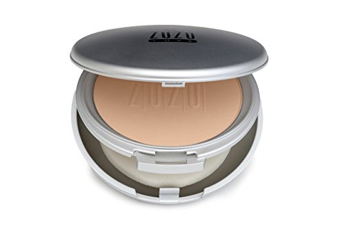 Zuzu Luxe Compact Natural Powder Foundation D-7 Pale To Ivory Skin 9g