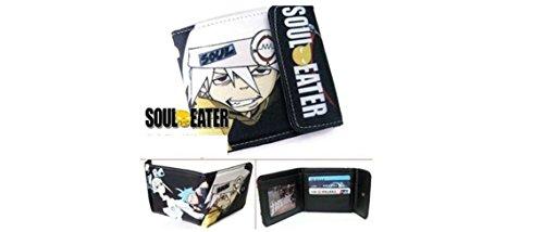 Soul Eater Anime Bifold Snap Wallet - White